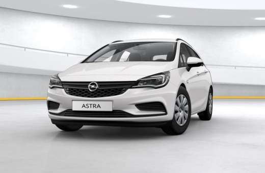 Opel Astra ST Fleet Selection